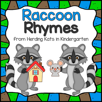 Back To School Raccoon Rhyming Match-up