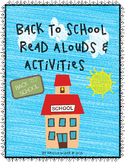 Back To School Read Alouds and Activities-Build Classroom