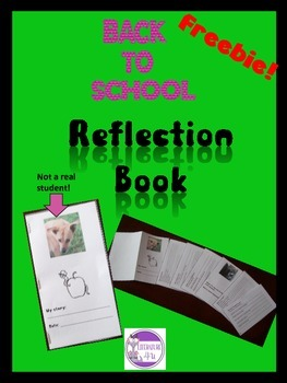 Back To School Reflection Book