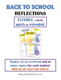 Back To School Reflections