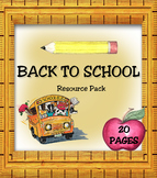 Back To School Resource Pack