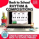 Back To School Rhythms & Composition