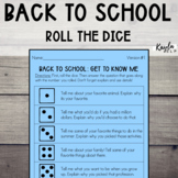 Back To School: Roll The Dice