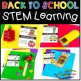 Back To School STEM Activities Maker Space