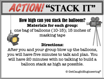 STEM and Back To School : Take One! Action!