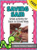 Back To School: Saving Sam Activity