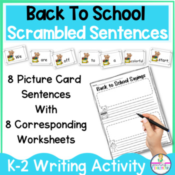 Back To School Sayings FUN Building Sentences