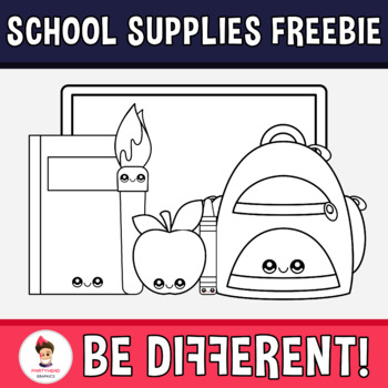 Back To School - School Supplies Free Pack Clipart