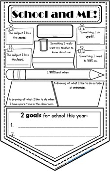Back To School - School and Me Banner