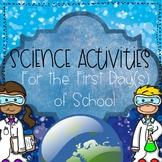 Back-To-School Science Activities
