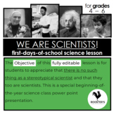 Back To School Science Activity
