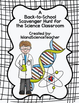 Back To School Science Scavenger Hunt