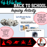 Back To School Science or Math Activity - Polar Bear Inquiry
