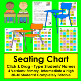 Editable Seating Chart Template