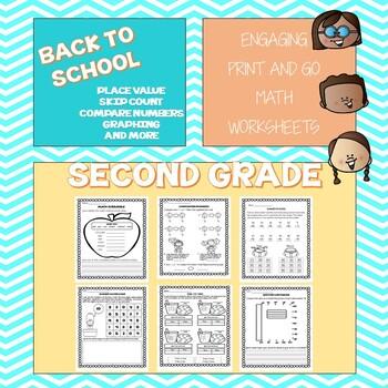 Summer School Math 1st Grade Teaching Resources | Teachers Pay Teachers