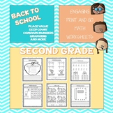 Back To School: Math Second Grade