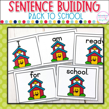 Back To School Sentence Scramble