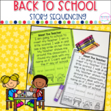 Back To School- Sequencing Stories