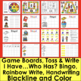 Editable Games Auto Fill by Typing Once Sight Words, Letters, Math and More!