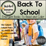 Back To School Sight Word Readers