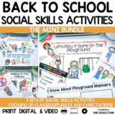 Back To School Social Story Mini Bundle