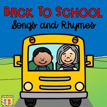Back to School Songs & Rhymes: School Bus Rules, Making Friends, School Supplies