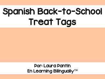 Back-To-School Spanish Treat Tags