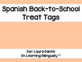 Back-To-School Spanish Treat Tags