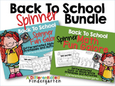 Back To School Spinner Printable Bundle for Math/Alphabet-Differentiated/Aligned