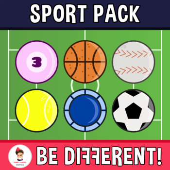 Back To School - Sport Time Theme Clipart
