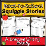 Back To School Squiggle Stories: A Creative Writing Activity