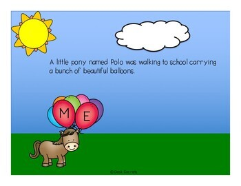 Back To School Story - The Letter Parade