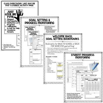 Back To School Binder, Folder, Notebook Set-Up