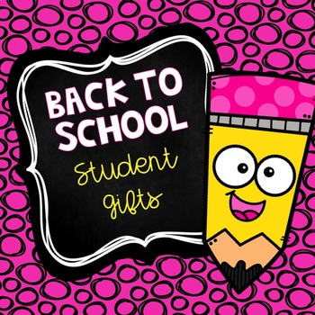 Back To School Student Notes