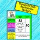 Back To School Student Assessment Digital Organizer: Google Classroom Paperless