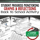 Back To School Student Progress Monitoring and Reflection Forms