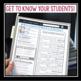 FREE BACK TO SCHOOL STUDENT PROFILE (SOCIAL MEDIA)