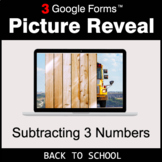 Back To School: Subtracting 3 Numbers - Google Forms Math