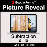 Back To School: Subtraction 0-10 - Google Forms Math Game