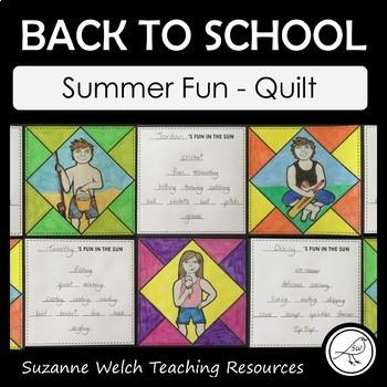 Back To School – Summer Fun – Quilt