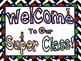 Super Hero Back To School Mini Pack