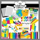School Supplies Clip Art Set 1