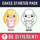 Back To School - Sweet Cakes Starter Pack Clipart