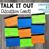 "Back To School ""Talk It Out"" Discussion Cards (for the Fir"