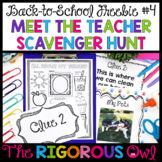 Back To School Teacher Scavenger Hunt Freebie