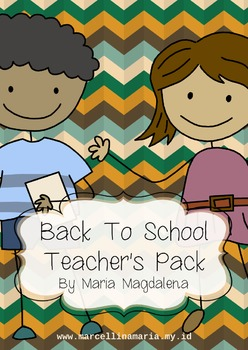 Back To School Teacher's Pack
