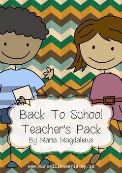 Back To School Teacher's Pack