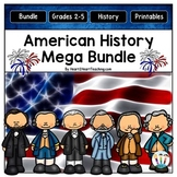 American History - US History - Social Studies for the Entire Year MEGA BUNDLE