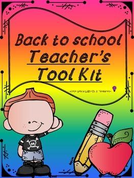 Back To School Teacher's Tool Kit