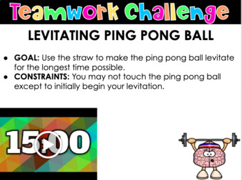 Back To School Team Building Challenges: Minute To Win It & STEAM Activities